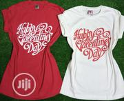 Valentine Ladies Round Neck T-Shirt   Clothing for sale in Lagos State, Lagos Island