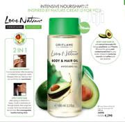 Oriflame Love Nature Body and Hair Oil | Hair Beauty for sale in Lagos State, Amuwo-Odofin