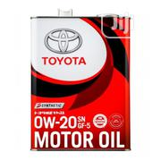 Toyota 0W20 Synthetic Gf-5 Motor Oil | Vehicle Parts & Accessories for sale in Rivers State, Port-Harcourt