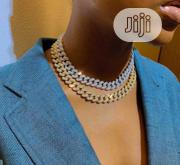 Full Iced Cuban Neckchain Choker Available In Store | Jewelry for sale in Lagos State, Lagos Island