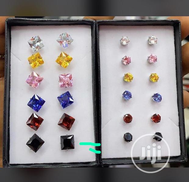 Crystal Earrings Available In Colors