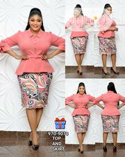 TURKEY PEPLLON Skirt And Blouse | Clothing for sale in Lagos State, Amuwo-Odofin