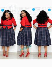New Classic Female Turkey Red Flare Gown | Clothing for sale in Lagos State, Victoria Island
