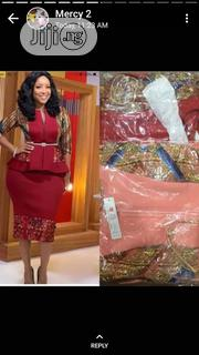 New Design Female Zip Down Dress With Belt | Clothing for sale in Lagos State, Ikeja