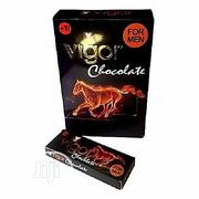 Vigor Sex Chocolate for Men - 12 Libido Boosting Bars | Sexual Wellness for sale in Lagos State