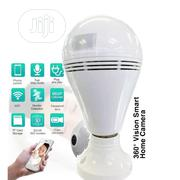 360 Security Wifi Camera Lamp Panoramic Camera | Security & Surveillance for sale in Lagos State, Ikeja