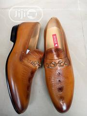 Check Out This Brown Rossi Matured Men's Shoe Available Just for You. | Shoes for sale in Lagos State, Lagos Island