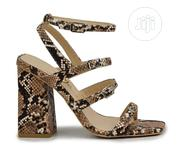 Animal Print Block Heel Sandals | Shoes for sale in Lagos State, Lagos Island