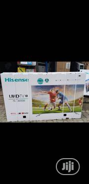 Hisense 75 Inches UHD TV 4k Smart | TV & DVD Equipment for sale in Lagos State, Ojo