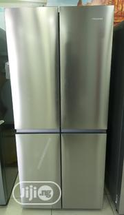 Hisense 432L 4 Doors Side By Side Refrigerator With Bottom Freezer | Kitchen Appliances for sale in Abuja (FCT) State, Kubwa
