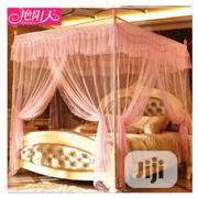 Royal Mosquito Net Canopy Lace Luxury 4 Corner Square Style   Home Accessories for sale in Lagos State, Lagos Island