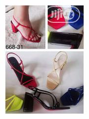 Ladies Heel Sandal.   Shoes for sale in Lagos State
