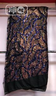 Blue Mix Sequence Lace | Clothing for sale in Lagos State, Ojo