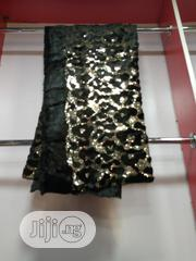 Gold Black Velvetine Sequence Lace | Clothing for sale in Lagos State, Ojo