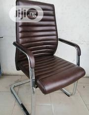 Pure Leather Visitors Chair | Furniture for sale in Lagos State, Ikorodu