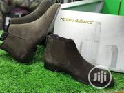 Men's Exclusive Suede Leather Boots - Brown   Shoes for sale in Lagos State, Kosofe