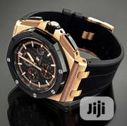 Audemars Piguet Royal Oak Chronograph Black Dial Swiss Watch   Watches for sale in Lagos State, Lekki Phase 2