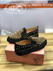 Unisex Loafers With Gold Details | Shoes for sale in Lagos State, Lekki Phase 1