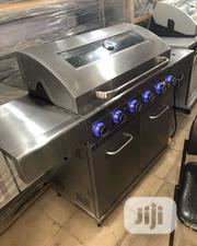 6 Burner Gas Bbq Grill With Side Cooker   Kitchen Appliances for sale in Lagos State, Ojo