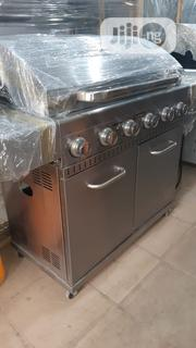 6 Burner Barbecue With Side Cooker | Restaurant & Catering Equipment for sale in Rivers State, Port-Harcourt