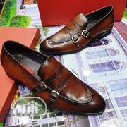 Italian Francesco Rossi Genuine Leather Skin Monks Strap Shoes | Shoes for sale in Lagos State, Lagos Island