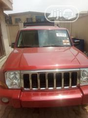 Jeep Commander 2007 Red   Cars for sale in Lagos State, Surulere
