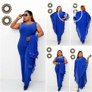 Turkey Elegant Jumpsuit 2piece Red and Blue | Clothing for sale in Lagos State, Lagos Island