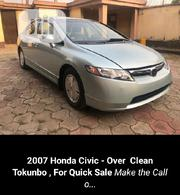 Honda Civic Hybrid CVT Automatic-PZEV 2007 Silver | Cars for sale in Lagos State, Lekki Phase 1