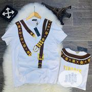 Authentic Versace T-Shirts(Black White) | Clothing for sale in Lagos State, Alimosho