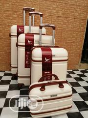 4 Sets Cream Colored Travel Suite Case Bags | Bags for sale in Lagos State, Ikeja