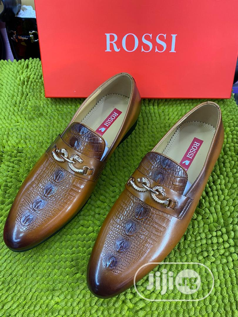 Rossi Classic Leather Shoes for Men   Shoes for sale in Lagos Island, Lagos State, Nigeria