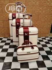 Trolley Luggage Suite Case Bags (4 Sets) Creamy Color | Bags for sale in Lagos State, Ikeja