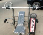 Weight Bench and 50kg Dumbells | Sports Equipment for sale in Akwa Ibom State, Etim-Ekpo