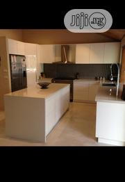 All White Kitchen Cabinet | Furniture for sale in Lagos State, Surulere