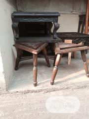 Arts And Crafts Side Stool | Furniture for sale in Lagos State, Ajah