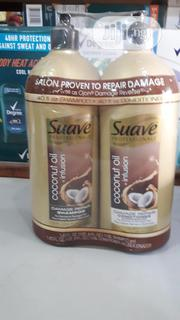 SUAVE SOOTHING SHAMPOO & CONDITIONER - Coconut Oil/Avocado/Olive Oil   Hair Beauty for sale in Lagos State, Ikotun/Igando