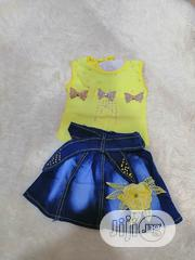 Unique Baby Girl Top and Skirt | Children's Clothing for sale in Lagos State, Ikeja