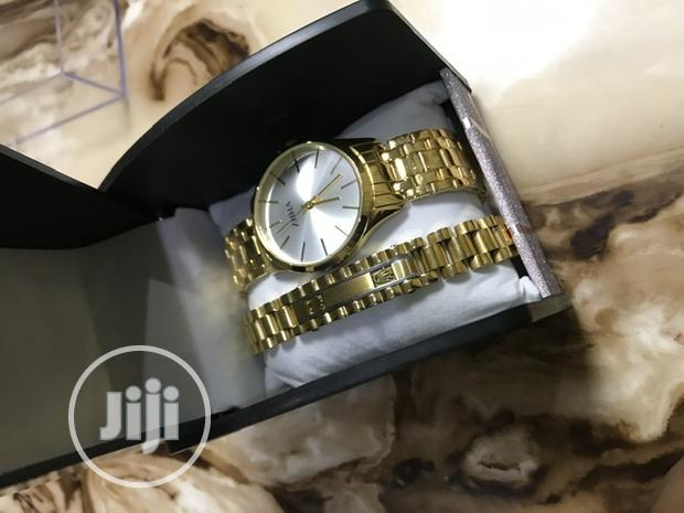 Archive: Gold Watch With Gold Rolex