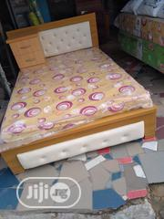 (6×4.5) Bedframe With Mouka Mattress | Furniture for sale in Lagos State, Ojo
