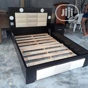 4by6bed Frame With Light   Furniture for sale in Lagos State, Ojo