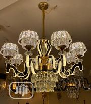New Classic Crystal Chandelier Led Light   Home Accessories for sale in Lagos State, Ojo