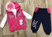 Baby's 3pcs Set 9-24mnths(Jacket, Top,Trouser) | Children's Clothing for sale in Enugu State, Enugu