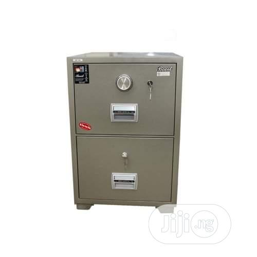 Original Quality Fire Proof Safe With 2 Drawer