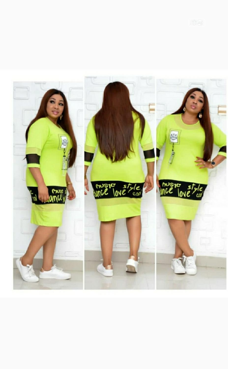 New Quality Female Turkish Polo Dress | Clothing for sale in Lagos Island, Lagos State, Nigeria