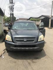 Honda Pilot 2005 LX 4x4 (3.5L 6cyl 5A) Gray   Cars for sale in Lagos State, Yaba