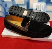 Quality Men's Louis Vuitton Designers Suede Loafer Shoe in Black | Shoes for sale in Lagos State, Lekki Phase 2
