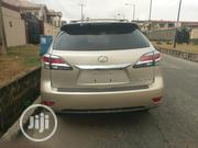 Lexus RX 350 AWD 2012 Gold | Cars for sale in Lagos State, Kosofe