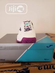 Joma - White, Pink, Nelon Blue Sneakers | Shoes for sale in Lagos State, Ikoyi