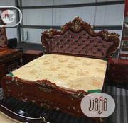 Imported Royal Bed With Glossy With Glossy Mirror Table | Home Accessories for sale in Lagos State, Ikeja