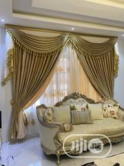 Turkish Executive Curtain Design( Double Fabrics in Blending) | Home Accessories for sale in Lagos State, Ojo